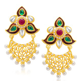 Sukkhi Ethnic Gold Plated Earring for Women