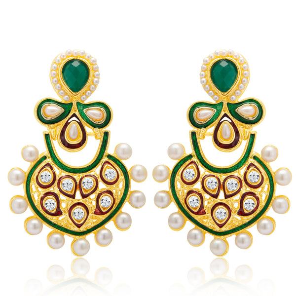 Sukkhi Charming Gold Plated Earring for Women