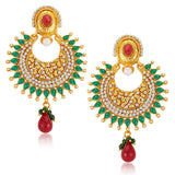Sukkhi Magnificent Gold Plated Earrings
