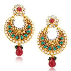 Sukkhi Marvellous Gold Plated Earrings