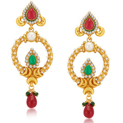 Sukkhi Ravishing Gold Plated Earrings