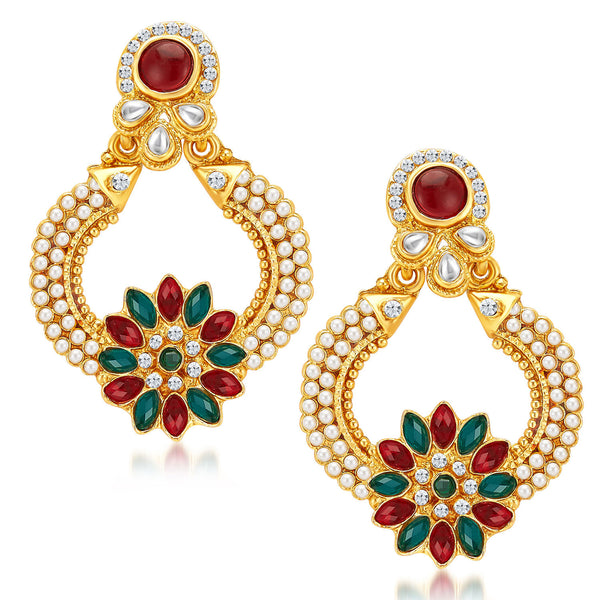 Sukkhi Ritzy Gold Plated Earrings