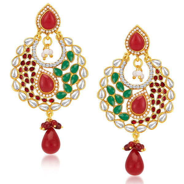 Sukkhi Royal Gold Plated Earrings