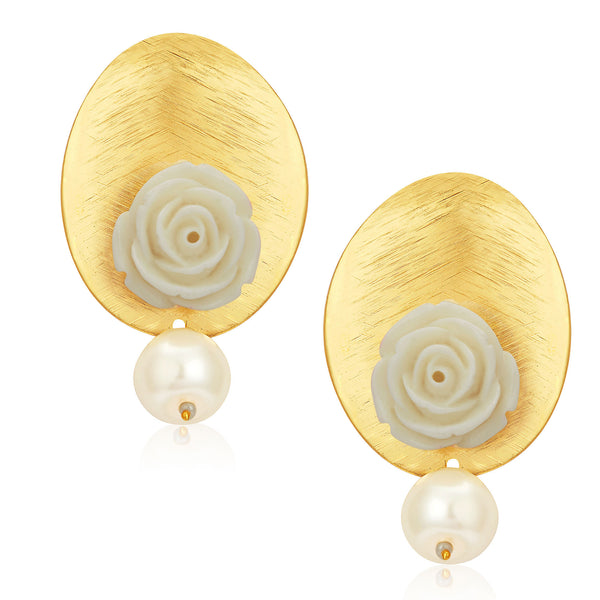 Sukkhi Beguiling Gold Plated Earrings For Women