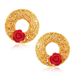 Sukkhi Alluring Gold Plated Earrings For Women
