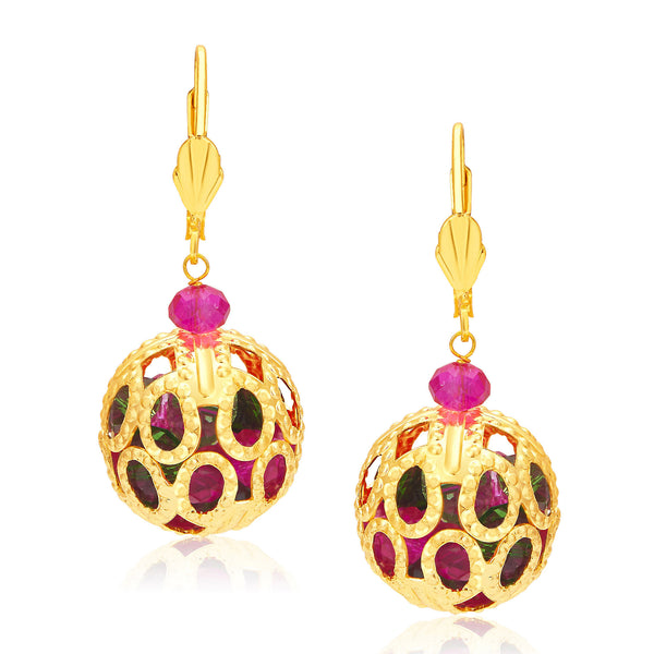Sukkhi Creative Gold Plated Earrings For Women