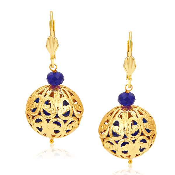 Sukkhi Elegant Gold Plated Earrings For Women