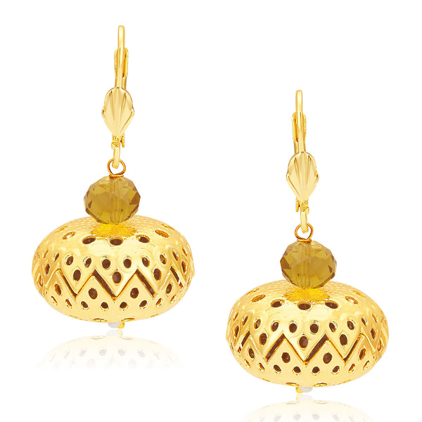 Sukkhi Delightly Gold Plated Earrings For Women