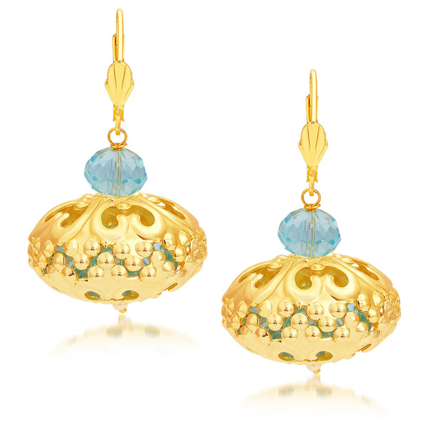 Sukkhi Sleek Gold Plated Earrings For Women