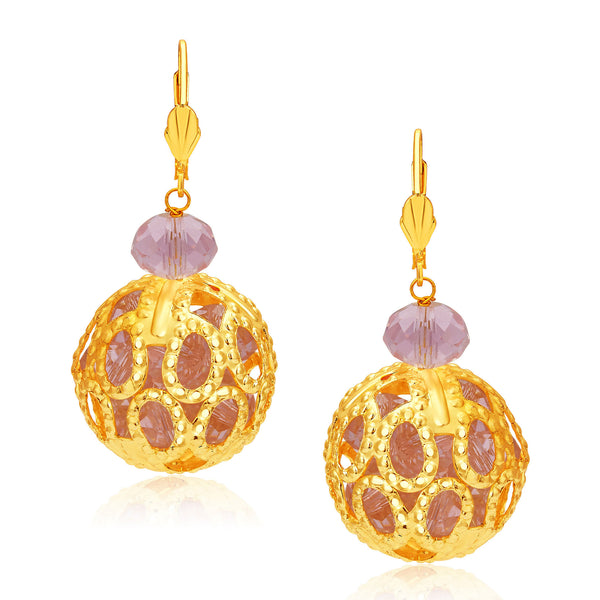 Sukkhi Brilliant Gold Plated Earrings For Women