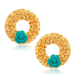 Sukkhi Marvellous Gold Plated Stud Earring For Women