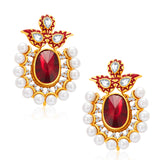 Sukkhi Exquitely Gold Plated AD Earring For Women
