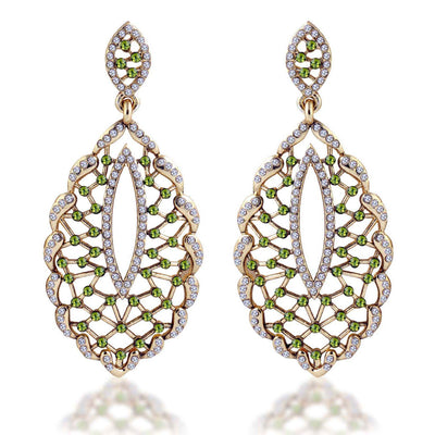 Sukkhi Fashionable Gold Plated AD Earring For Women