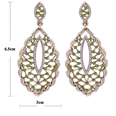Sukkhi Fashionable Gold Plated AD Earring For Women-1