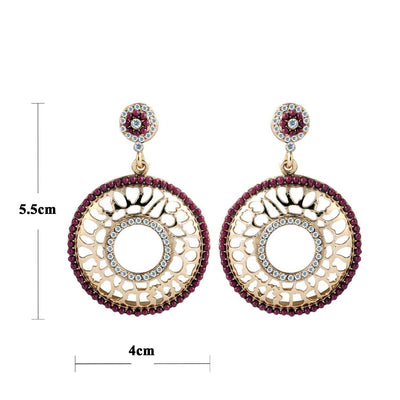 Sukkhi Bewitching Gold Plated AD Earring For Women-1