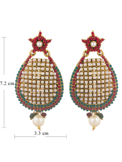 Sukkhi Delightly Gold Plated Earring For Women-1