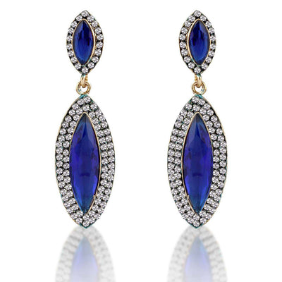 Sukkhi Classy Gold Plated AD Earring For Women
