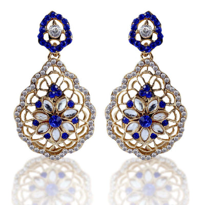 Sukkhi Pleasing Gold Plated AD Earring For Women