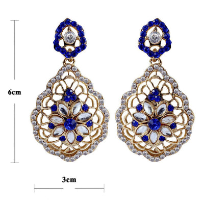 Sukkhi Pleasing Gold Plated AD Earring For Women-1