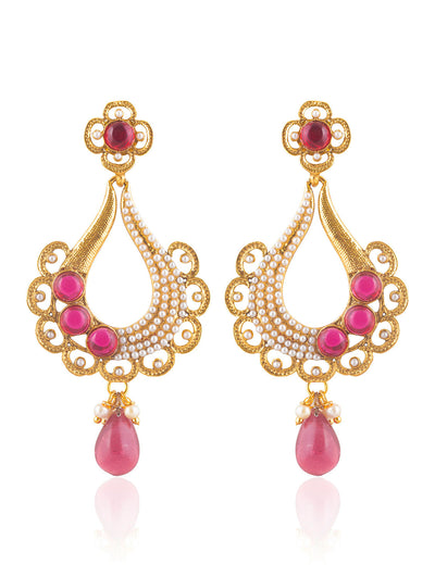 Sukkhi Delightful Gold Plated Earring For Women