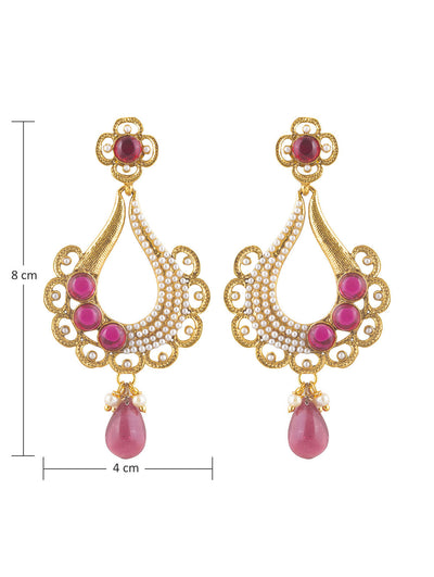Sukkhi Delightful Gold Plated Earring For Women-1