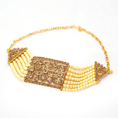 Sukkhi Sublime Gold Plated AD Bajuband For Women
