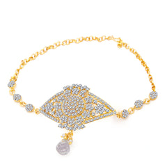 Sukkhi Fascinating Gold Plated AD Bajuband For Women