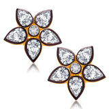 Sukkhi Fascinating Gold Plated AD Earring For Women