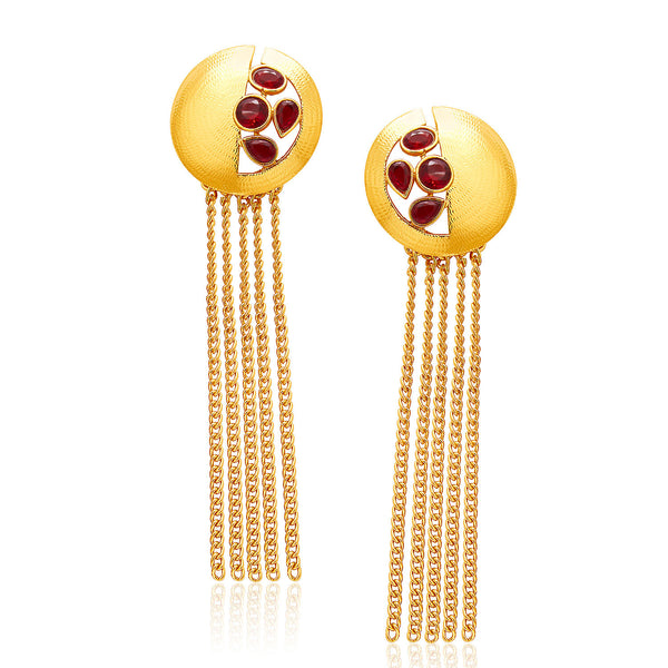 Sukkhi Modern Mehandi Plated Earring For Women