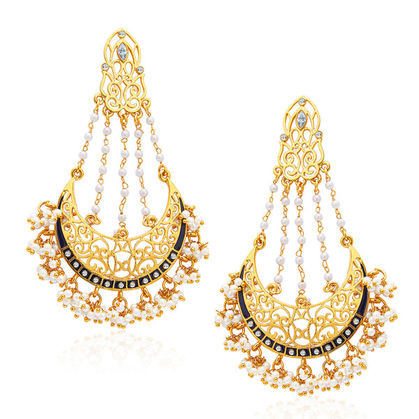 Sukkhi Excellent Mehandi Plated Earring For Women