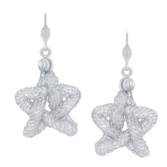 Sukkhi Exquisite Star Shaped Stone Earring Rhodium Plated AD Earring For Women