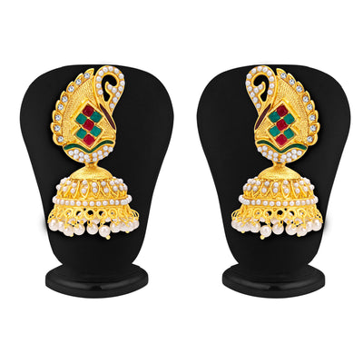 Sukkhi Angelic Jhumki Gold Plated Earring For Women-1