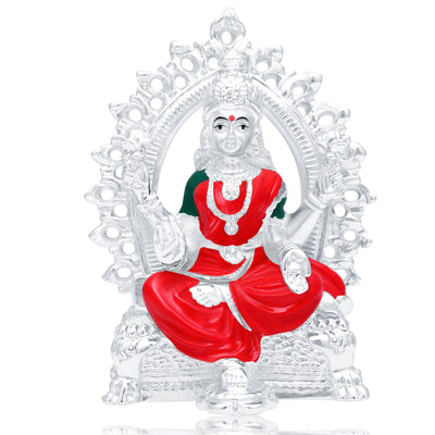 Sukkhi Fancy Hand Painted Rhodium Plated Laxmiji Spiritual Idol