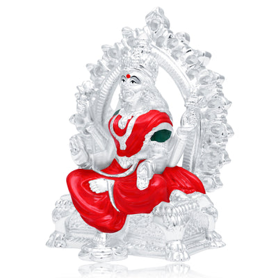 Sukkhi Fancy Hand Painted Rhodium Plated Laxmiji Spiritual Idol-1