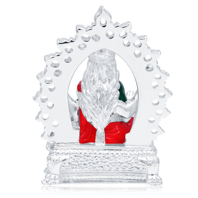 Sukkhi Fancy Hand Painted Rhodium Plated Laxmiji Spiritual Idol-3