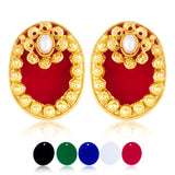 Sukkhi Classic Changeable Plates Gold Plated Earring For Women
