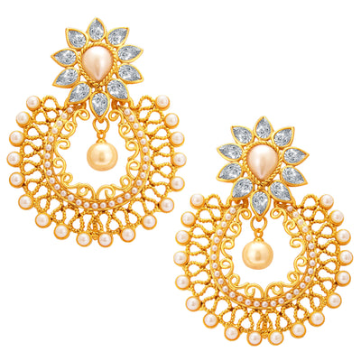 Sukkhi Designer Gold Plated Earring For Women