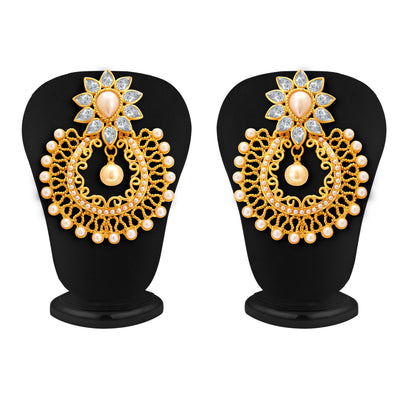 Sukkhi Designer Gold Plated Earring For Women-1