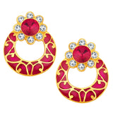 Sukkhi Astonishing Gold Plated AD Earring For Women