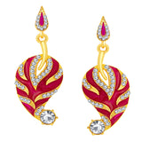 Sukkhi Angelic Gold Plated AD Earring For Women