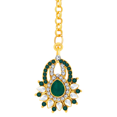 Sukkhi Exquisite Gold Plated AD Earring For Women-2