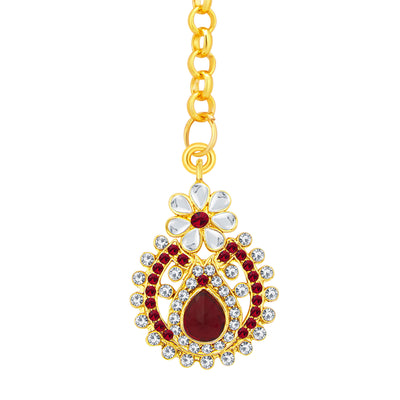Sukkhi Finely Gold Plated AD Earring For Women-2