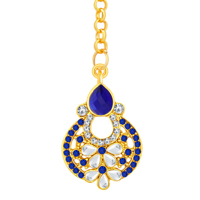Sukkhi Fashionable Gold Plated AD Earring For Women-2