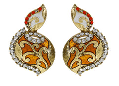 Sukkhi Modish Gold Plated AD Earring For Women