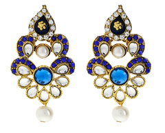 Sukkhi Stylish Gold Plated AD Earring For Women
