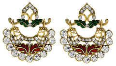 Sukkhi Glimmery Gold Plated AD Earring For Women