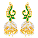 Sukkhi Glimmery Peacock Gold Plated Earring For Women