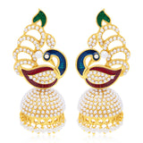 Sukkhi Delightful Peacock Gold Plated Earring For Women