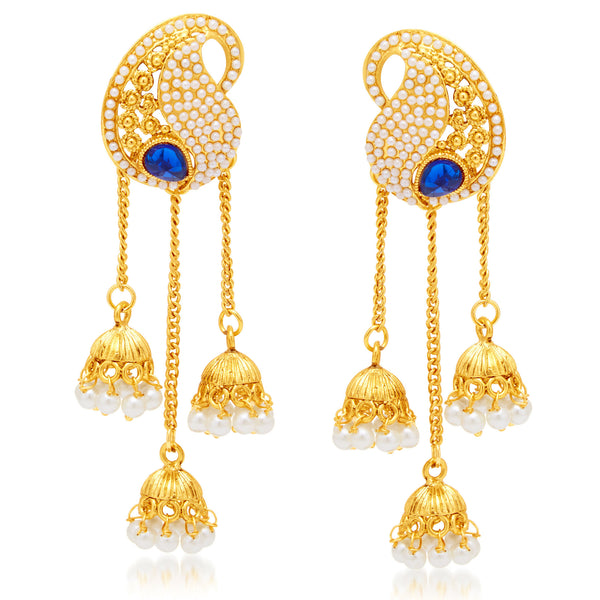 Sukkhi Creative Gold Plated Earring For Women