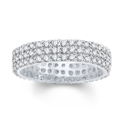 Sukkhi Moddish Rhodium Plated Cubic Zirconia Ring-1